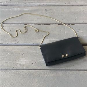 FREE PEOPLE Black Clutch Purse